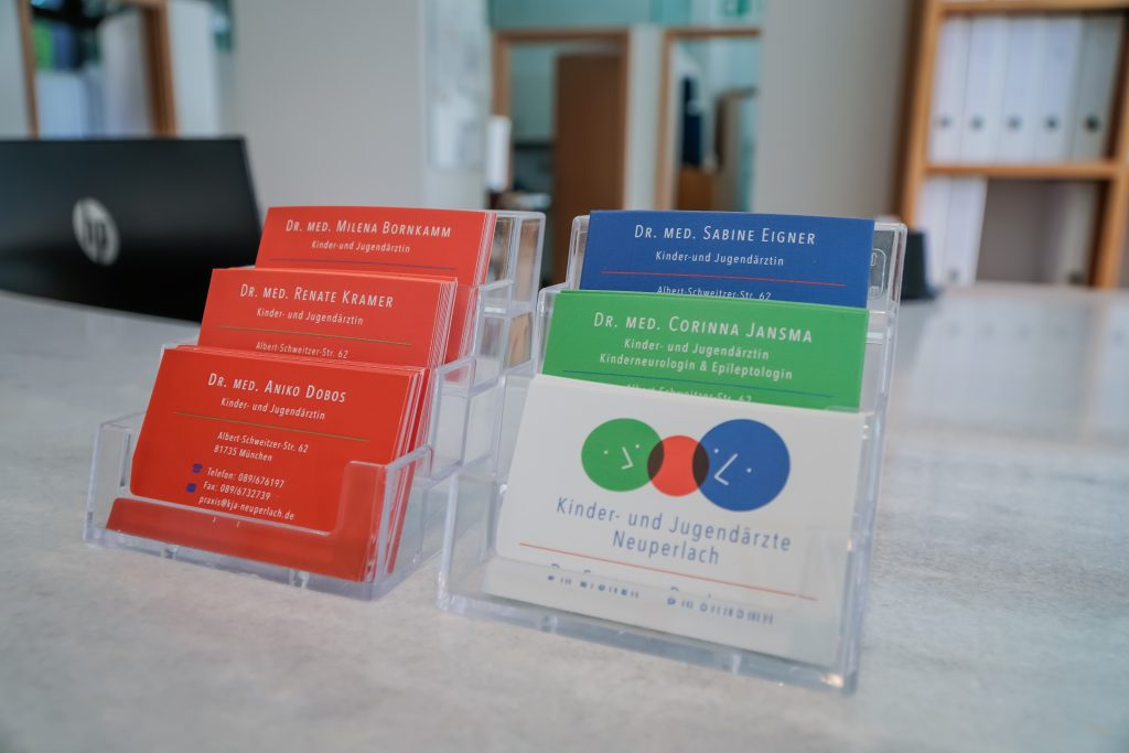 KJA Neuperlach - Visitenkarten